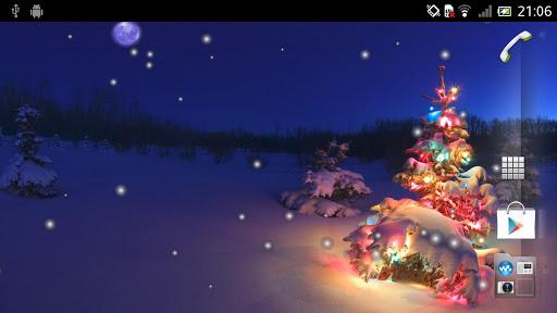 Скриншот Новогодняя елка Живые обои / Christmas Tree LWP для Android