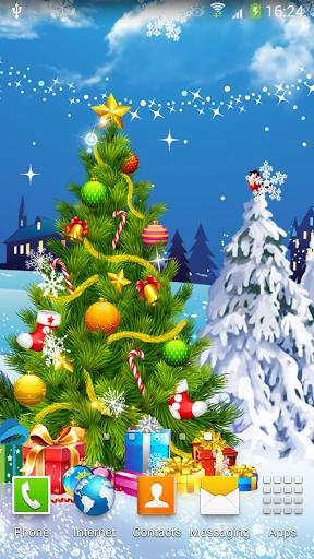 Скриншот Новогодняя Ночь Живые Обои для Android