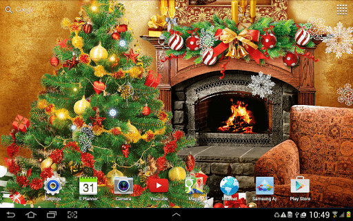 Скриншот Новогодние Обои / New Year Wallpapers для Android