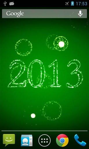Скриншот Новый Год фейерверки LWP для Android
