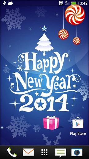 Скриншот Новый год Живые Обои для Android