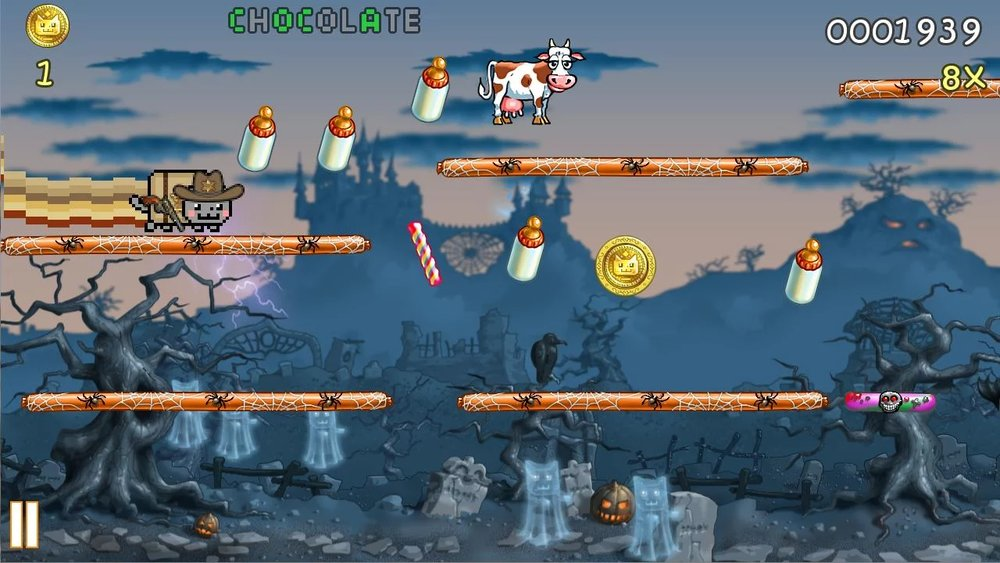 Скриншот Nyan Cat: Lost In Space для Android