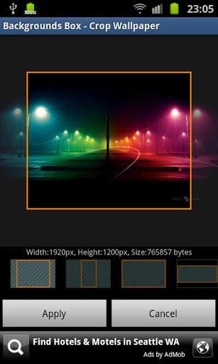 Скриншот Обои Box для Android