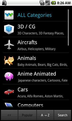 Скриншот Обои CASA (HD) для Android