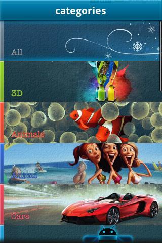 Скриншот Обои HD для Android