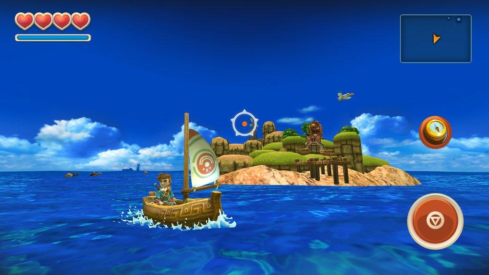 Скриншот Oceanhorn для Android