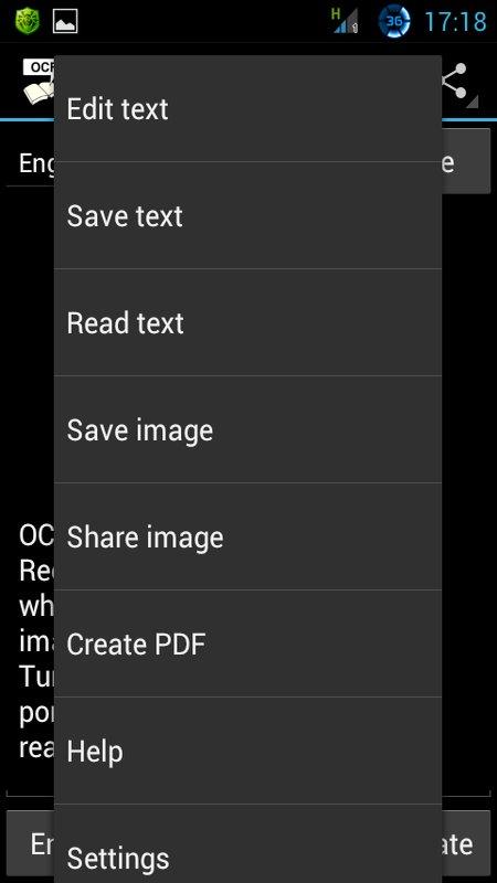 Скриншот OCR Instantly Pro для Android