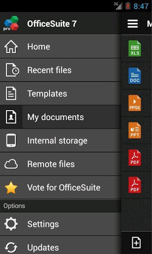 Скриншот OfficeSuite Pro 7 TR для Android