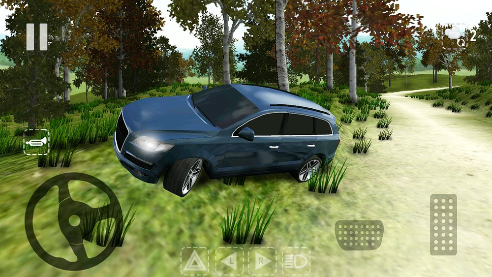 Скриншот Offroad Car Q для Android