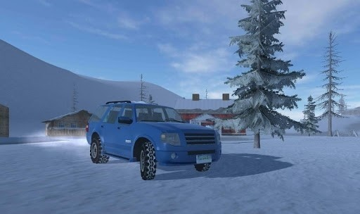 Скриншот Off-Road Winter Edition 4×4 для Android