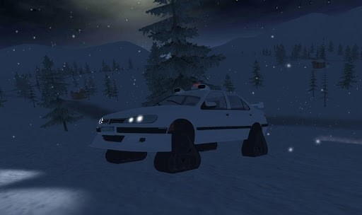 Скриншот Off-Road Winter Edition 4×4 для Android