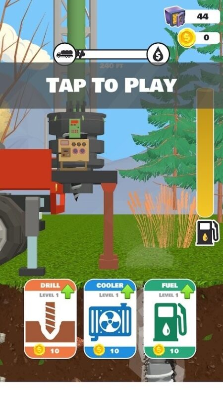 Скриншот Oil Well Drilling для Android