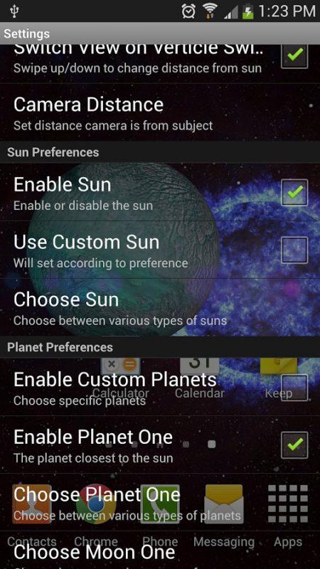 Скриншот Orbit Space 3D для Android