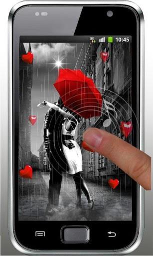 Скриншот Осень любовь HD живые обои для Android