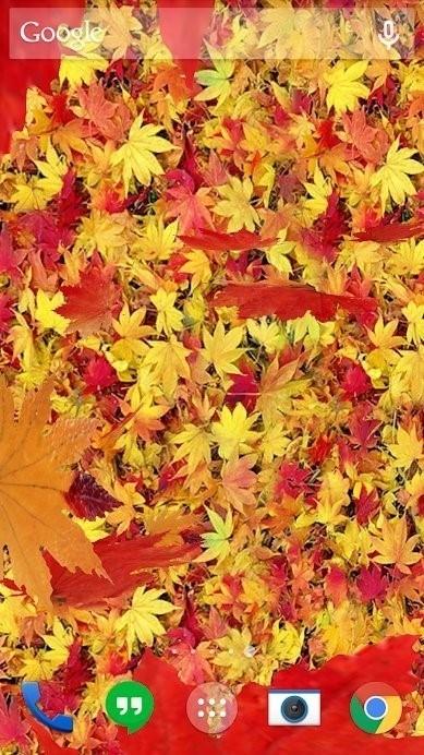 Скриншот Осенние листья 3D для Android