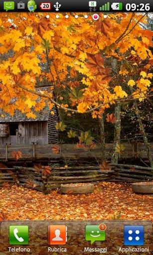 Скриншот Осень живые обои / Autumn LWP для Android