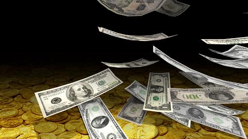 Скриншот Падающие Деньги 3D для Android