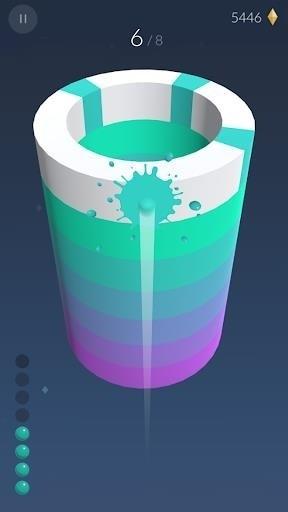 Скриншот Paint Hit для Android
