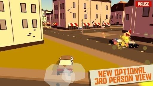 Скриншот Pako — Car Chase Simulator для Android