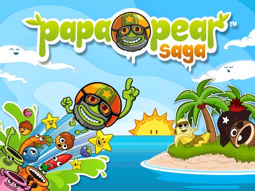 Скриншот Papa Pear Saga для Android