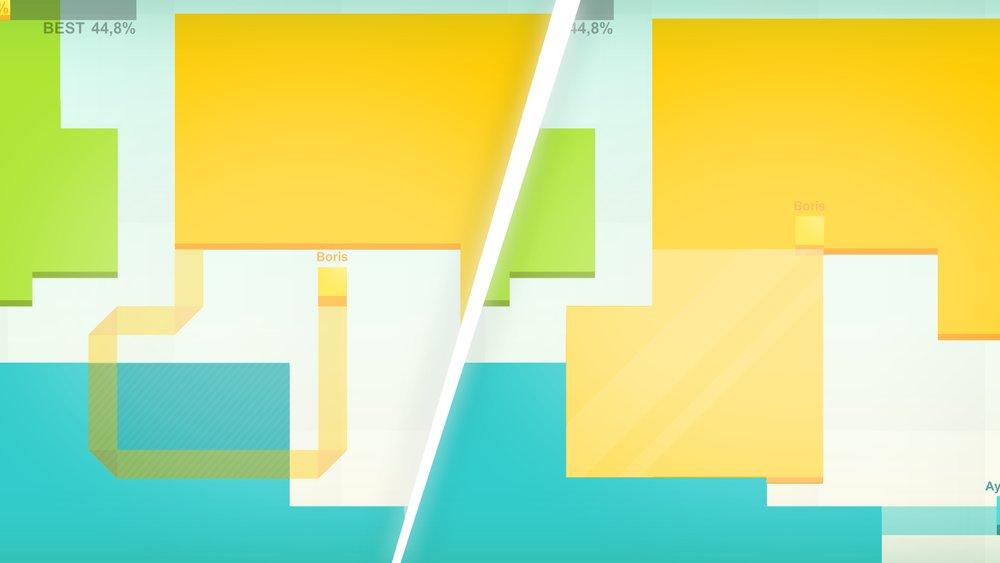 Скриншот Paper.io для Android