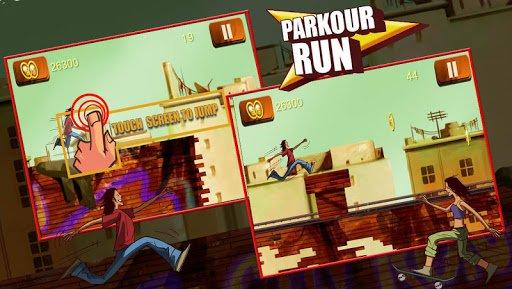 Скриншот Паркур Run для Android