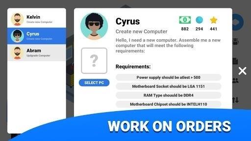 Скриншот PC Creator для Android