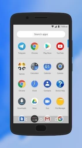 Скриншот Pear Launcher для Android