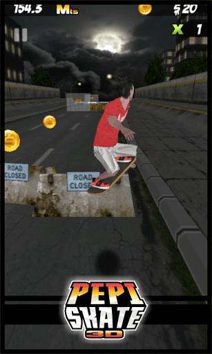 Скриншот PEPI Skate 3D для Android