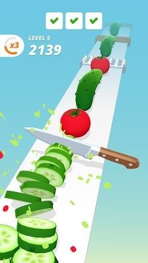 Скриншот Perfect Slices для Android
