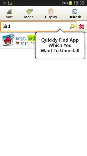 Скриншот Perfect Uninstaller для Android