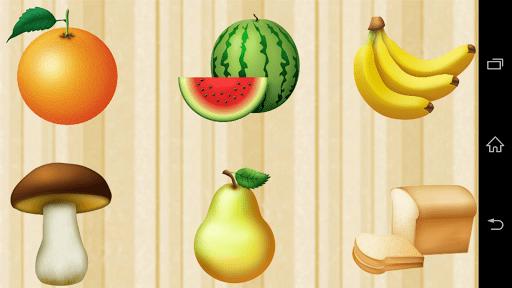 Скриншот Первые слова для детей FREE для Android