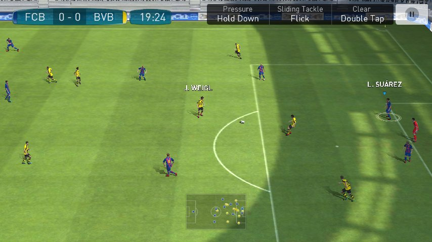 Скриншот PES 2017 для Android