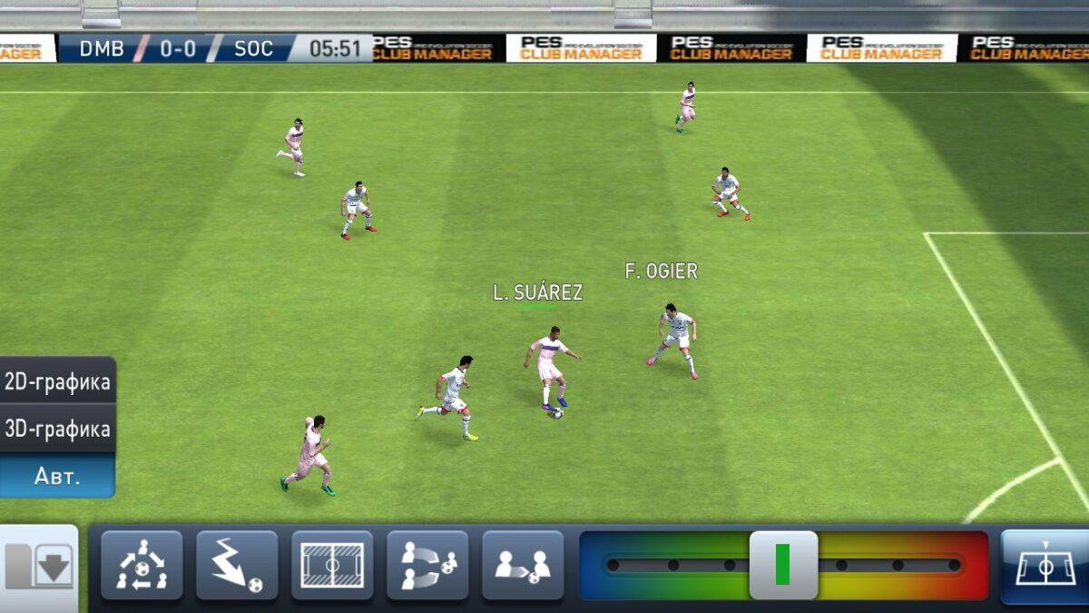 Скриншот PES CLUB MANAGER для Android
