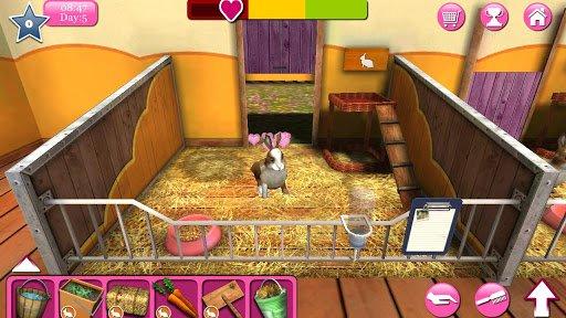 Скриншот PetWorld 3D: Приют для зверей для Android