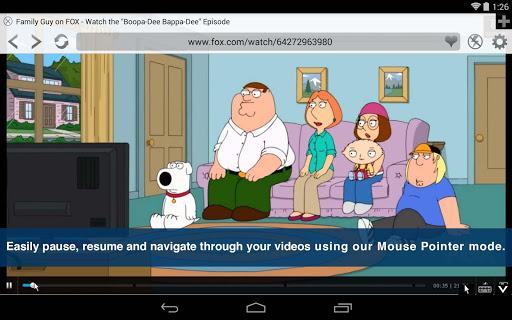 Скриншот Photon флэш-плеер и браузер для Android