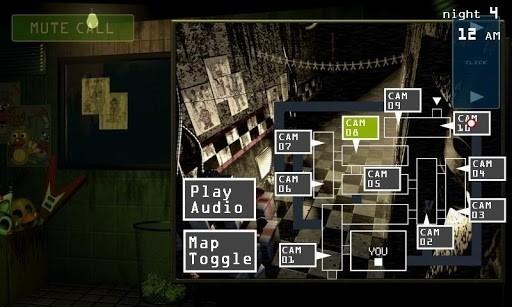 Скриншот Пять ночей с Фредди 3 для Android