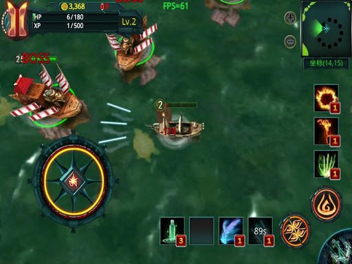 Скриншот Pirate Hero 3D для Android