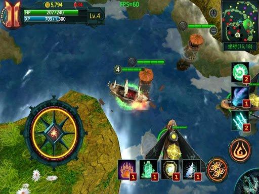 Скриншот Pirate Hero 3D для Android