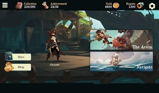 Скриншот Pirates Outlaws для Android