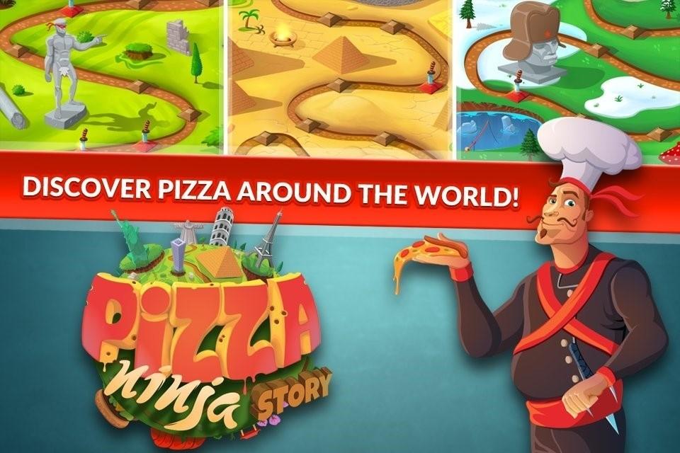 Скриншот Пицца-ниндзя для Android