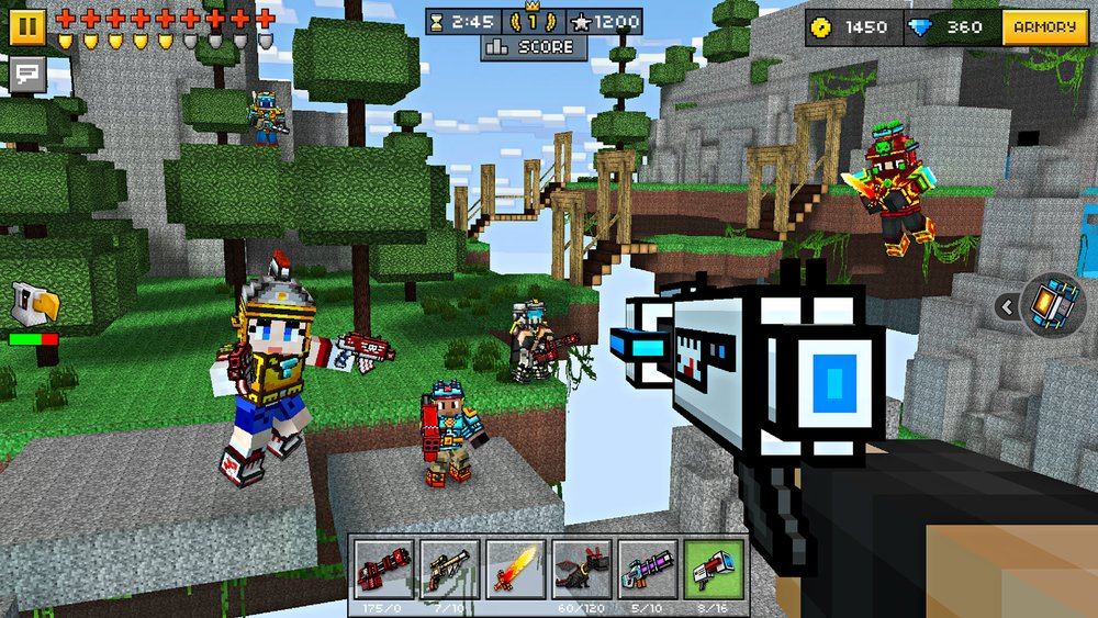 Скриншот Pixel Gun 3D для Android