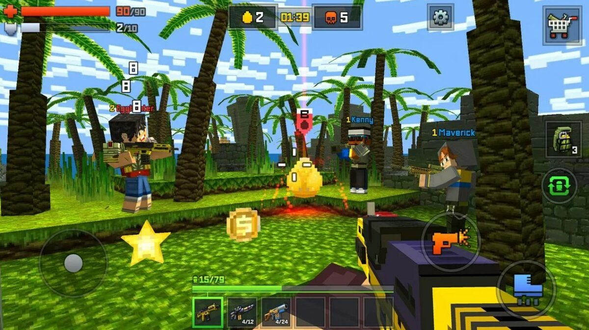 Скриншот Pixelmon Hunter для Android