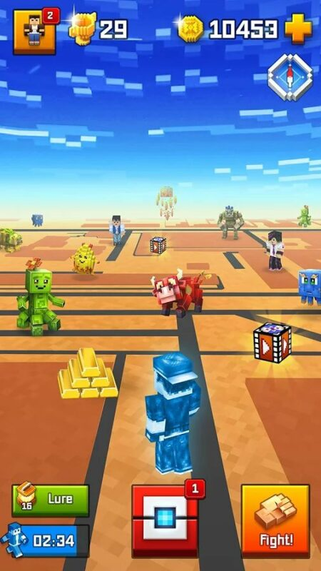 Скриншот Pixelmon GO для Android