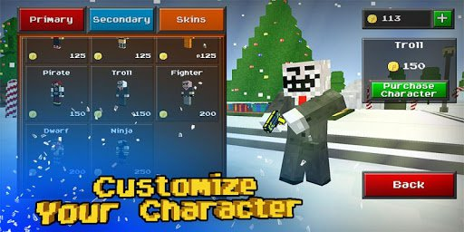Скриншот Pixel Strike 3D для Android