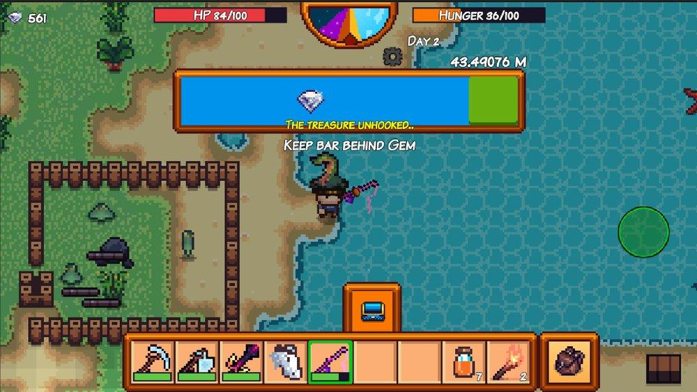 Скриншот Pixel Survival Game 3 для Android