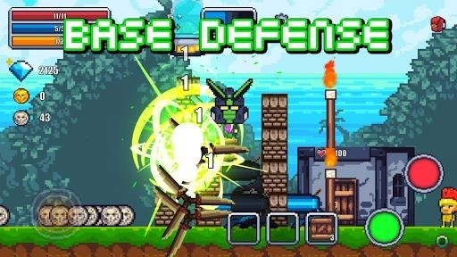 Скриншот Pixel Survival World для Android