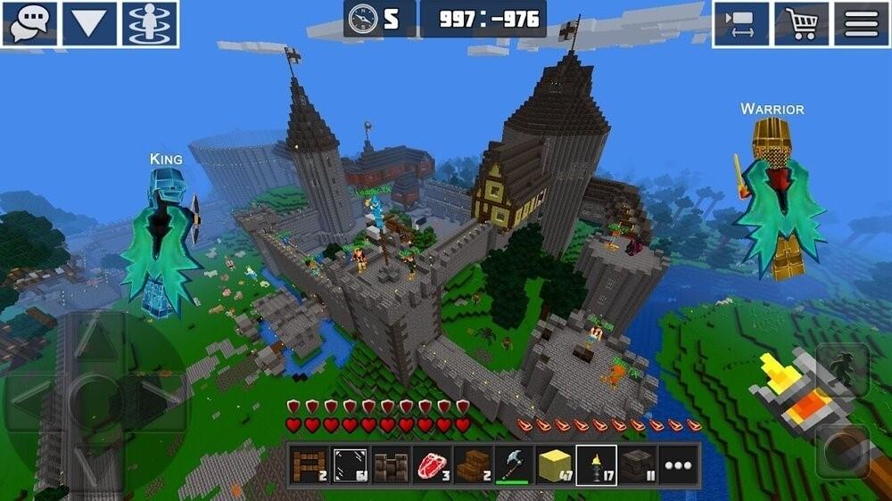 Скриншот PlanetCraft для Android