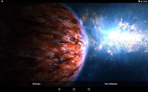 Скриншот Planets Pack для Android