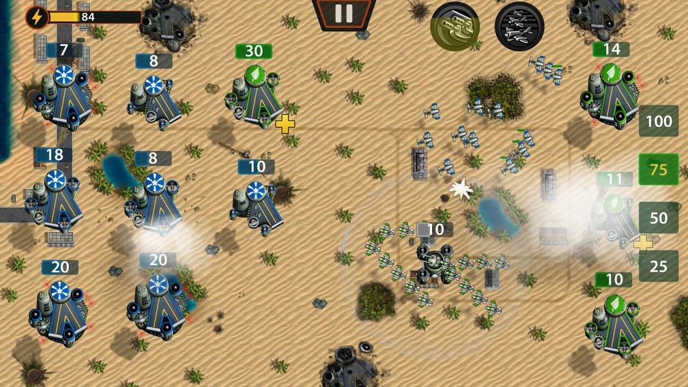 Скриншот Plane Wars 2 для Android